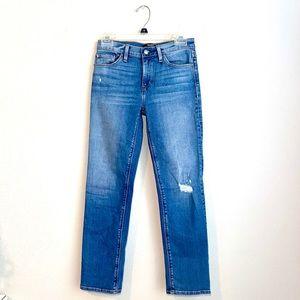 Hudson   Mid-Rise Skinny Distressed Jean Size 25